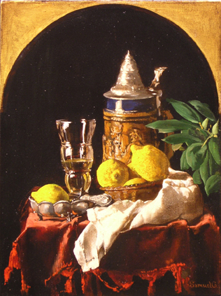 Samuel Gareginyan / Beer Stein and lemonade